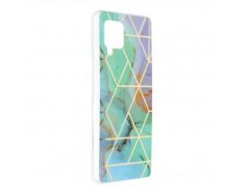 Husa Upzz Silicone Marble Cosmo Compatibila Cu Samsung Galaxy A42 5g, Model 3