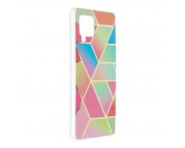 Husa Upzz Silicone Marble Cosmo Compatibila Cu Samsung Galaxy A42 5g, Model 4