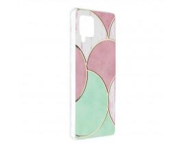 Husa Upzz Silicone Marble Cosmo Compatibila Cu Samsung Galaxy A42 5g, Model 5