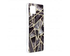 Husa Upzz Silicone Marble Cosmo Compatibila Cu Samsung Galaxy A42 5g, Model 7