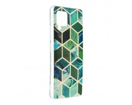 Husa Upzz Silicone Marble Cosmo Compatibila Cu Samsung Galaxy A42 5g, Model 8