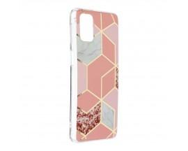Husa Upzz Silicone Marble Cosmo Compatibila Cu Samsung Galaxy M31s, Model 2