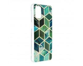 Husa Upzz Silicone Marble Cosmo Compatibila Cu Samsung Galaxy M51, Model 8