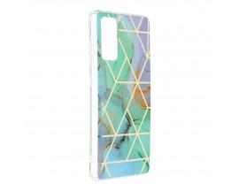 Husa Upzz Silicone Marble Cosmo Compatibila Cu Samsung Galaxy S20 FE, Model 3