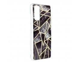 Husa Upzz Silicone Marble Cosmo Compatibila Cu Samsung Galaxy S20 FE, Model 7