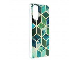 Husa Upzz Silicone Marble Cosmo Compatibila Cu Samsung Galaxy S20 FE, Model 8
