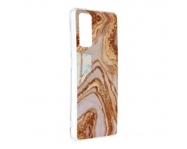 Husa Upzz Silicone Marble Cosmo Compatibila Cu Samsung Galaxy S20 FE, Model 9