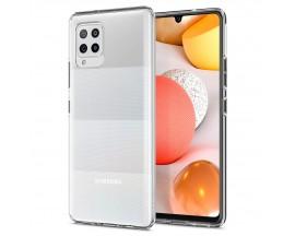 Husa Premium Spigen Liquid Crystal Samsung Galaxy A42 5G, Silicon, Transparenta