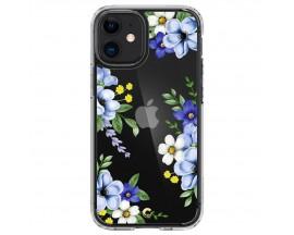 Husa Premium Spigen Cyrill Cecile Pentru iPhone 12 Mini, Midnight Bloom