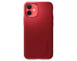 Husa Premium Originala Spigen Thin Fit iPhone 12 Mini, Rosu