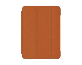 Husa Premium Kingxbar Businees Compatibila Cu Apple Ipad Air 4 ( 2020 ), Orange