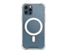Husa Premium Upzz Magnetic Case MagSafe Compatibila cu iPhone 12 Pro Max, Tehnologie Air Cushion