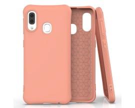 Husa Spate Silicon Soft Upzz Compatibila Cu Samsung Galaxy A20e, Orange