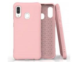 Husa Spate Silicon Soft Upzz Compatibila Cu Samsung Galaxy A20e, Roz