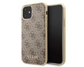 Husa Premium Originala Guess Charm Edition iPhone 11 Brown - GUHCN61G4GB
