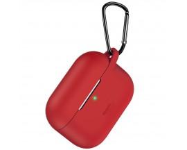 Husa Protectie Esr Bounce Compatibila Cu Airpods Pro - Rosu