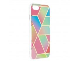Husa Upzz Silicone Marble Cosmo Compatibila Cu iPhone 7 / 8 / SE 2, Model 4