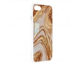 Husa Upzz Silicone Marble Cosmo Compatibila Cu iPhone 7 / 8 / SE 2, Model 9