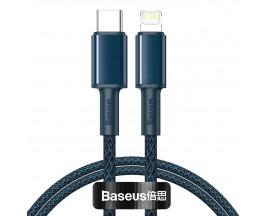 Cablu Premium Baseus Usb Type-C La Lightning Power Delivery Fast Charge 20W, 1M, Albastru - CATLGD-03