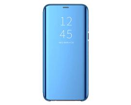 Husa Tip Carte Mirror Samsung Galaxy A10 Albastru - Cu Folie Sticla Marca Upzz Inclusa
