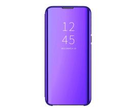 Husa Flip Cover Upzz Mirror Samsung Galaxy A6+ Plus 2018, Mov