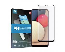 Folie Sticla Full Cover Full Glue Mocolo Samsung Galaxy A02s, Cu Adeziv Pe Toata Suprafata Foliei Neagra