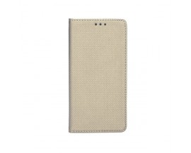 Husa Flip Cover Upzz Smart Case Pentru Samsung Galaxy A20s, Gold
