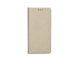 Husa Flip Cover Upzz Smart Case Pentru Samsung Galaxy A42 5G, Gold