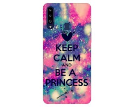 Husa Silicon Soft Upzz Print Samsung Galaxy A20s Model Be Princess