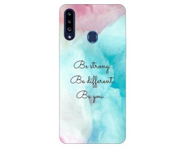 Husa Silicon Soft Upzz Print Samsung Galaxy A20s Model Be You