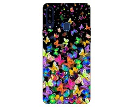 Husa Silicon Soft Upzz Print Samsung Galaxy A20s Model Colorature