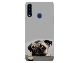 Husa Silicon Soft Upzz Print Samsung Galaxy A20s Model Dog