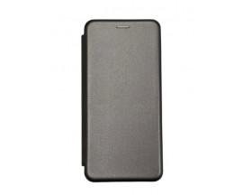 Husa Flip Carte Cu Magnet Lux Upzz Compatibila Cu Samsung Galaxy A20s, Gri