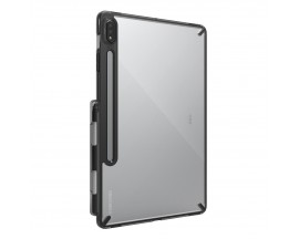 Husa Tableta Ringke Fushion Pc Case Compatibila Cu Galaxy Tab S7 11', Transparenta Cu Rama Fumurie