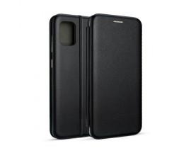 Husa Flip Carte Cu Magnet Lux Upzz Compatibila Cu Samsung Galaxy M31s, Negru