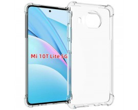 Husa Spate Upzz Roar Bulletproof Pentru Xiaomi Mi 10T Lite 5G, Tehnologie Air Cushion La Colturi ,transparenta