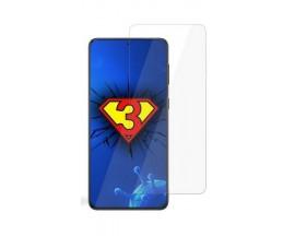Folie Silicon 3Mk Silver Protection Antimicrobian Compatibil Cu Samsung Galaxy S21, Transparenta, Ultra Rezistenta