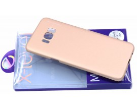 Husa Spate X-level Metallic Samsung S8 G955f Plus Gold