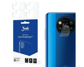 Set 4 Buc Folie Sticla Nano Glass Pentru Camera 3Mk Pentru Xiaomi Poco X3, Transparenta