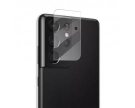 Folie Sticla Nano Glass Pentru Camera Mocolo Samsung Galaxy S21 Ultra, Transparenta