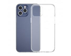 Husa Slim Baseus Simple Pentru iPhone 12 Pro Max, Transparenta, Silicon