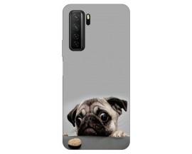 Husa Silicon Soft Upzz Print Huawei P40 Lite 5G Model Dog