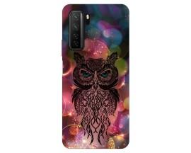 Husa Silicon Soft Upzz Print Huawei P40 Lite 5G Model Sparkle Owl