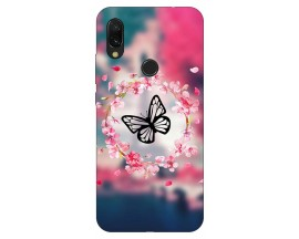 Husa Silicon Soft Upzz Print Xiaomi Redmi 7 Model Butterfly