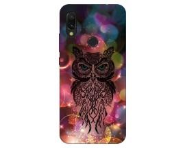 Husa Silicon Soft Upzz Print Xiaomi Redmi 7 Model Sparkle Owl