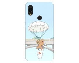 Husa Silicon Soft Upzz Print Xiaomi Redmi 7 Model Three Bears