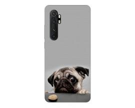 Husa Silicon Soft Upzz Print Xiaomi Mi Note 10 Lite Model Dog