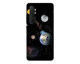 Husa Silicon Soft Upzz Print Xiaomi Mi Note 10 Lite Model Earth