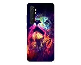 Husa Silicon Soft Upzz Print Xiaomi Mi Note 10 Lite Model Neon Lion