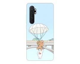 Husa Silicon Soft Upzz Print Xiaomi Mi Note 10 Lite Model Three Bears